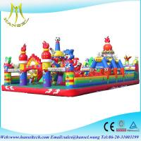 China Hansel popular PVC blow up intex inflatable slide for commercial on sale
