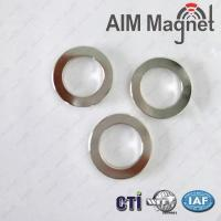 Buy cheap Factory Make Customized Round Magnets With Screw Hole product