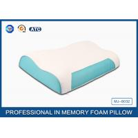 Buy cheap Wave Memory Foam Contour Pillow , Orthopedic Sleeping Pillow With Zipper Cover product