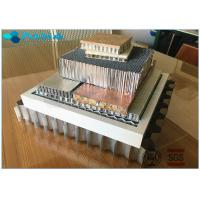 Buy cheap High Flat Surface Aluminium Honeycomb Sandwich Panel Excellent Weather Resistance product