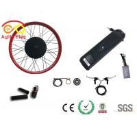 Buy cheap Durable Fat Tire Electric Bike Conversion Kit With Axle Front 135mm / Rear 170mm product