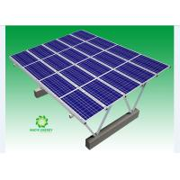 Buy cheap Greatly Reinforced Structure Solar PV Waterproof Carport System With Corrosion Resistance product
