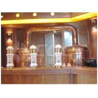 Buy cheap 500L Red Copper Brewing Equipment Home Beer Brewing Kit 1 Year Warranty product