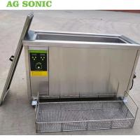 Buy cheap Engine Cylinder Ultrasonic Cleaning Equipment 80l Metal Parts Degreasing Machine product