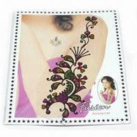 Buy cheap Tattoo Sticker, Various Sizes and Designs are Available, Increases Brightness of Hand product