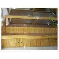Buy cheap Vegetable / Fruit Wooden Retail Display Stand Supermarket Wooden Display Shelving from Wholesalers