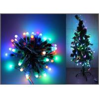 Buy cheap 5V Fullcolor LED Party light 50PCS 1903IC RGB 12mm Pixels digital Addressable String Christmas tree decoration product