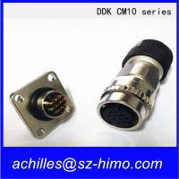 Buy cheap 10pin DDK CM10 series servo motor quick connector male and female product