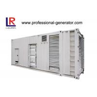 Buy cheap CE Soundproof 1000kVA Diesel Container Generator Set with Electrical Starting AC 3 Phase from Wholesalers