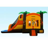 Buy cheap Yellow Fun City Inflatable Bouncer Combo Environmental Friendly product