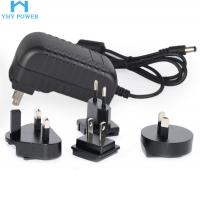 Buy cheap 100-240v Input Interchangeable Plug Power Adapter With 50000H Service Life product