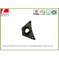 Buy cheap Customised Precision CNC milling aluminum base with black anodization from Wholesalers