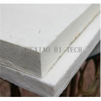 Buy cheap High Temperature Heat Insulation Ceramic Fiber Board For Wood Stove 10 - 50mm Thick product