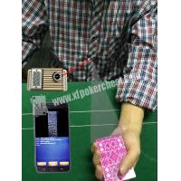 Buy cheap Button Auto Sensor Poker Cheating Camera Poker Scanner For Dealer / Player product
