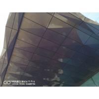 Buy cheap 3D Shape 4mm Thickness Aluminum Composite Panels For Shading Spectra Color product