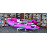Buy cheap Semi - FRP Inflatable RIB Boats Tube 3.3 Meter Length Pink Color product
