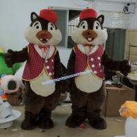 Buy cheap adult alvin chipmunks mascot costume from wholesalers