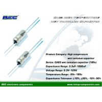Buy cheap CA83 Stable Performances Wet Axial Tantalum Capacitor with High Frequency 22μF from wholesalers