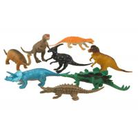 Quality Customized Dinosaur Plastic Figure Models With Different Colour for sale