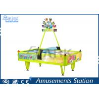Buy cheap Fiberglass Material English Version 4 Person Air Hockey Table product