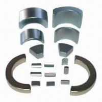 Buy cheap Motor Arc Magnets with Nickel Coating product