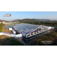 Buy cheap 5000 Peope Giant Clear Span Tent 50 by 70 Meter with Transparent PVC Roof Cover from Wholesalers