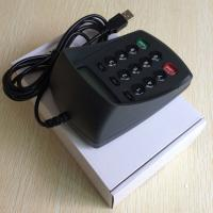 Buy cheap HX541DA-A USB Plug and Play  No Driver Bank PinPad / Keypad /Password Keyboard product