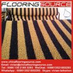 Buy cheap PVC Cushion Coil Mat Pvc Looped Floor Mat anti-slip wet areas dirt stop door mat product