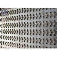 Buy cheap Customized Pattern Hole Stainless Steel Perforated Metal Smooth Surface Treatment product