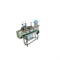 Buy cheap Labor Saving Fully Automatic Mask Making Machine With Tension Control System product