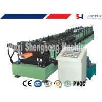 Buy cheap Galvanized Sheet Gutter Roll Forming Machine For Roof Flashing Profile product