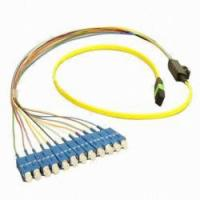 Quality Computer Network LC / SC Fiber Patch Cord In Female-Female , MPO Patch Cable for sale