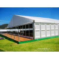 Buy cheap aluminium tent aluminum frame tent glass wall tent from Wholesalers