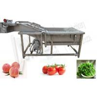 Buy cheap Commercial Vegetable Washing Machine Price|Fruit Washer Machine Low Price product