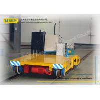 Buy cheap Warehouse Transferring Flat Rail Guided Vehicle , Cargo Heavy Duty Cart Trolley product