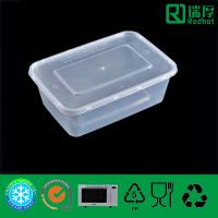 Buy cheap Plastic Food Container Disposable Take Away Microwaveable 750ml product