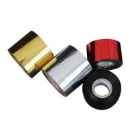 China Gold Silver Aluminum Hot Stamping Foil For Plastic Bottle Cap Tube on sale