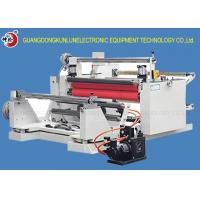 Buy cheap Three Motors Synchronous 60 - 70m/Min Slitting And Rewinding Machine ISO Certificate product