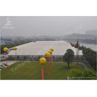Buy cheap PVC Fabric Roof Outside Industrial Storage Tents Customized ISO CE Certification from Wholesalers
