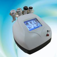 Buy cheap 40Khz ultrasonic liposuction cavitation slimming machine with 2 RF and 1 vacuum head product