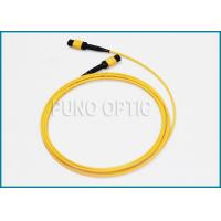 Buy cheap Single Mode MPO Fiber Optic Cable For Indoor Structure Cabling 32 Fibers product