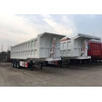 Quality High Speed Tipper Semi Trailer Truck For Mining And Construction 25-45 CBM for sale