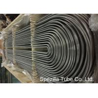 Quality ASME SA213 U Bend Pipe for Heat Exchanger , TP304 Seamless Stainless Steel Tubing  for sale