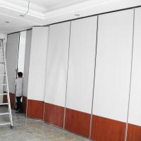 Buy cheap Suspended System Operable Acoustic Movable Partition Walls For Banquet Hall from wholesalers