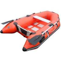 Buy cheap Durable small fishing 0.9mm PVC Inflatable Boat , inflatable rubber motor boat Red product