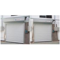 Buy cheap Fast Speed Motor Drive Automatic Roller Door Panel Made Of Two Layers Aluminum product