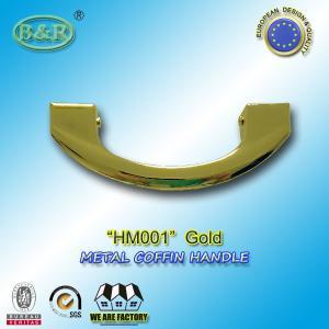 17 x 6.5cm Metal Coffin Handles HM001 Gold color casket handle european style and design
