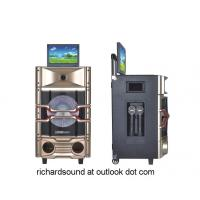 professional Karaoke speaker system & active speaker with DVD player/party light/LCD screen
