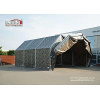 Buy cheap 2017 Latest Design Aluminum Frame PVC Roof Tent Structure for Military Aircraft Hangar Outdoor from Wholesalers
