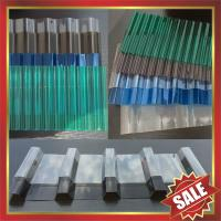 China corrugated polycarbonate sheet,pc corrugated roofing sheet,corrugated pc sheet-excellent greenhouse and building cover! on sale
